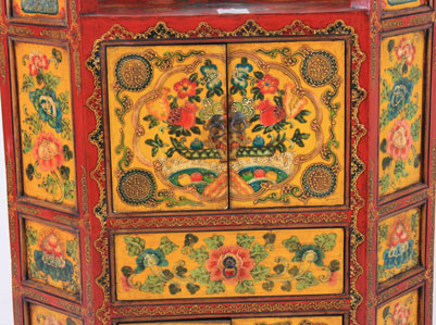 Tibetan cabinet chinese reproduction furniture chinese for Oriental reproduction furniture