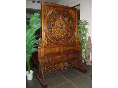 Chinese traditional screen chinese reproduction for Oriental reproduction furniture