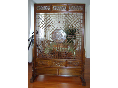 Antique reproduction screen chinese reproduction for Oriental reproduction furniture