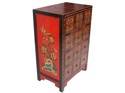 12 drawer cd cabinet chinese reproduction furniture for Oriental reproduction furniture
